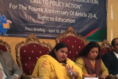 Fourth Anniversary of Article 25-A, Right to Education: April 19th 2014