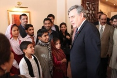 Gordon Brown\'s Interaction with the Civil Society