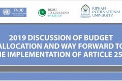 Session on Budget 2019-20: Education Sector