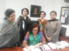 Vice Chancellor of Lahore College for Women University (LCWU) signs the Up4School petition
