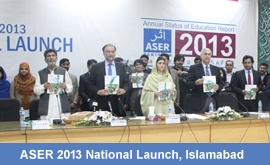 ASER 2013 National Launch