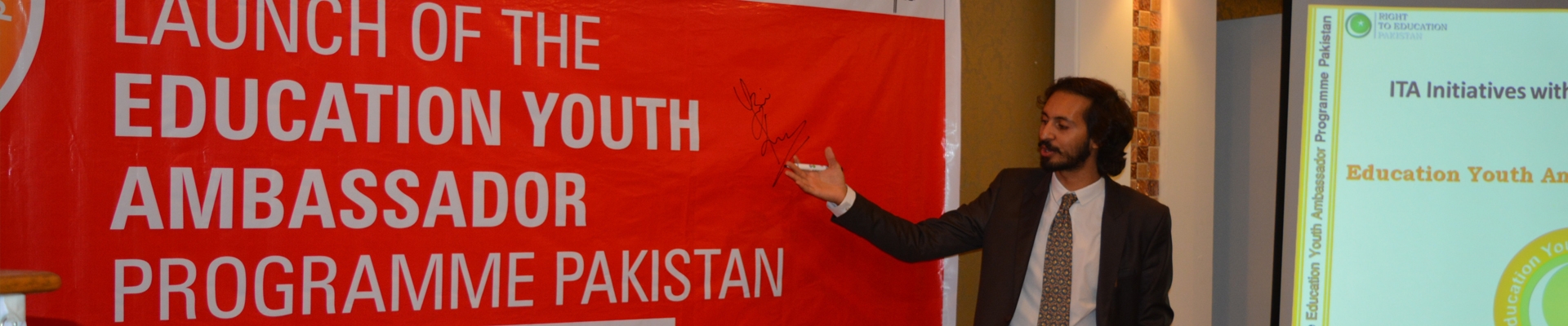 Education Youth Ambassador Programme Launched in Pakistan