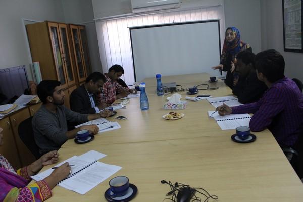 EYA Training Session - Sindh