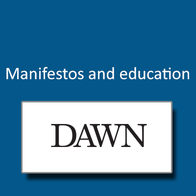 Manifestos and education