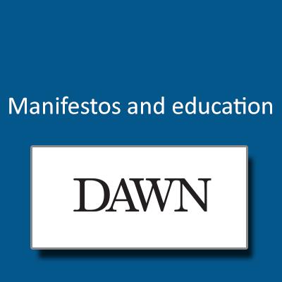 Manifestos and education